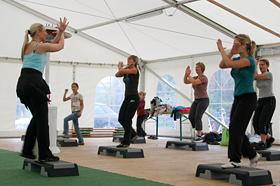 Fitnesszelt