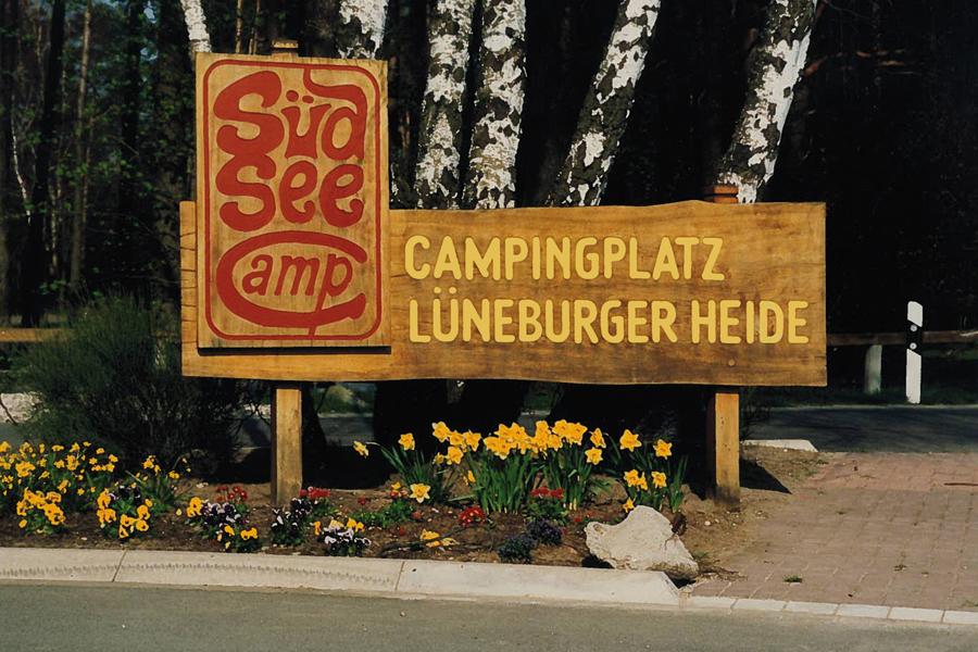 Eingang Südsee-Camp