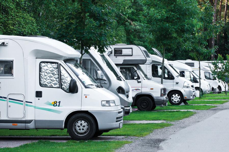 Motorcaravanplätze mit Seeblick