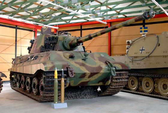 Königstiger © Panzermuseum