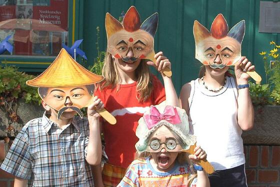 Masken © Spielmuseum