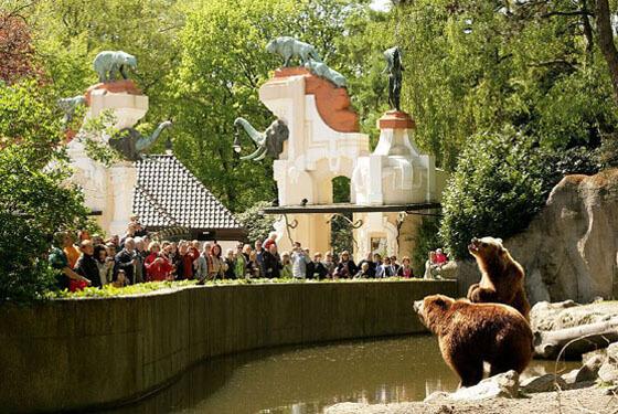 Bärentor © Tierpark Hagenbeck
