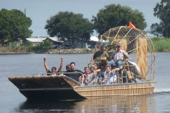 Airboat © Serengeti Park